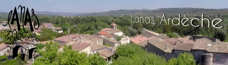 Lanas – Ardèche – Site de la village
