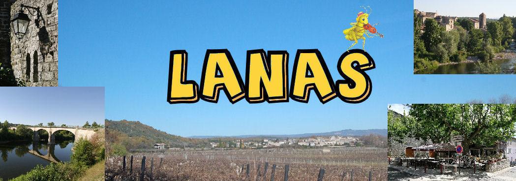Lanas – Ardèche – Site du village